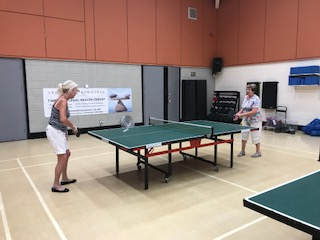 The Table Tennis group meets at 2pm, every Wednesday at the Chanctonbury Leisure Centre